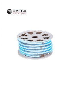 גליל לד 50 מ' צבע כחול 220V