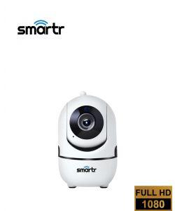 מצלמת אבטחה ביתית אלחוטית - WIFI מתכווננת PTZ 1080P HD