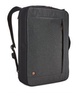 """תיק צד/גב מנהלים אפור דגם ERA למחשב נייד 15.6"""" מבית case logic"""