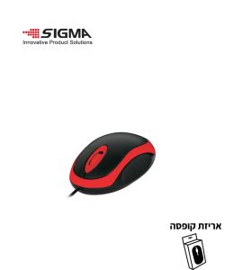 עכבר USB  מיני M101 אדום - קופסה