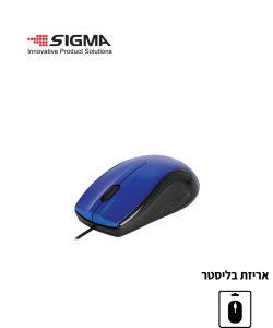 עכבר אופטי חוטי בעל 3 לחצנים
