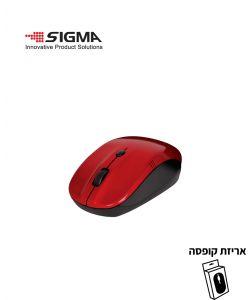 עכבר אלחוטי M766 אדום - קופסה