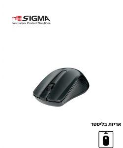 עכבר אלחוטי WS360 שחור - בליסטר