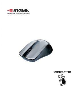 עכבר אלחוטי  WS360 כסוף - קופסה