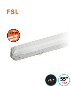 גוף תאורה מוגן מים LED T8 מקצועי