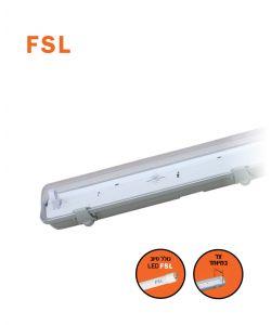 מוגן מים LED T8 1X22W