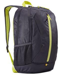 תיק גב אפור-ירוק מדגם IBIRA מבית Case Logic