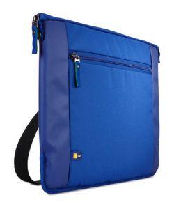 """תיק מעטפה כחול דגם INTRATA מוקצף למחשב נייד 15.6"""" מבית case logic"""