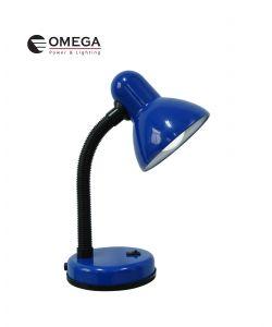 מנורת שולחן - כחול