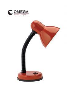 מנורת שולחן - אדום