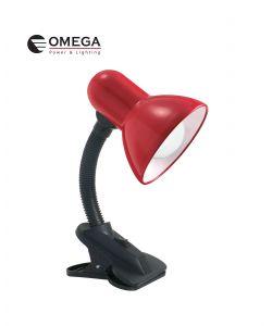 מנורת שולחן קליפס - אדום