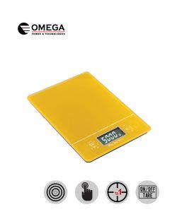 משקל מטבח דיגיטלי צהוב