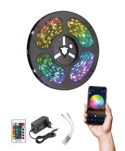 קיט סרט לד WIFI RGB כולל שנאי ושלט מוגן מים