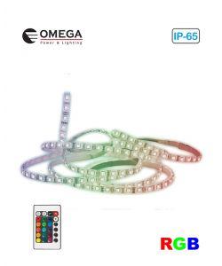 קיט סרט לד RGB כולל שנאי ושלט