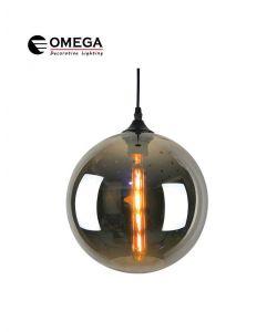 גוף תאורה תלוי דגם C-BALL מעושן