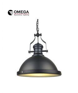 גוף תאורה תלוי דגם BELL שחור