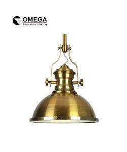 גוף תאורה תלוי דגם BELL זהב פליז