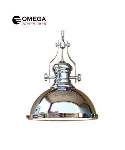 גוף תאורה תלוי דגם BELL ניקל כרום