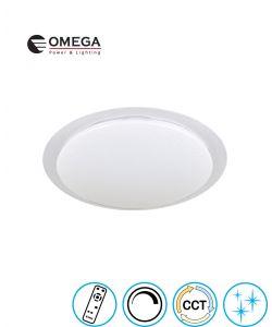 צמוד תקרה דגם BRILLIANT גוון אור משתנה וטיימר