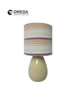 מנורת שולחן מעוצבת דולב בז'
