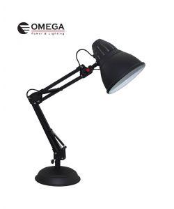 מנורת שולחן מעוצבת פלמינגו שחור