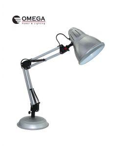 מנורת שולחן מעוצבת פלמינגו כסוף