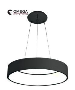 גוף תאורה דגם אוהיו שחור 185W אור קר