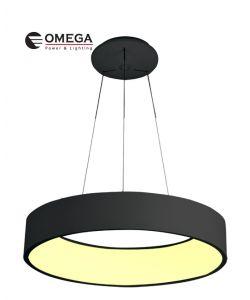 גוף תאורה דגם אוהיו שחור 185W אור חם