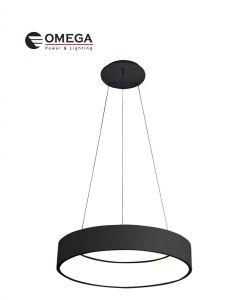 גוף תאורה דגם אוהיו שחור 72W אור קר