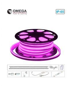 סרט ניאון לד גמיש אור ורוד לפי הזמנת הלקוח, ניתן לחיתוך לפי מטר