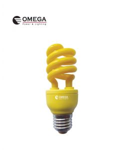 נורת CFL אור צהוב בסיס E27