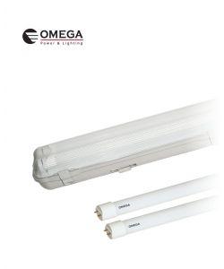 מוגן מים LED T8 2X20W