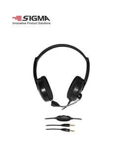 אוזנית מולטימדיה שחור 3003 SIGMA