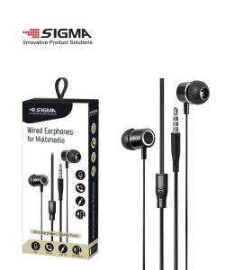 אוזניות מולטימדיה AUX 3.5mm צבע שחור