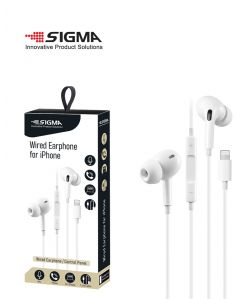 אוזניות מולטימדיה for IPhone צבע לבן