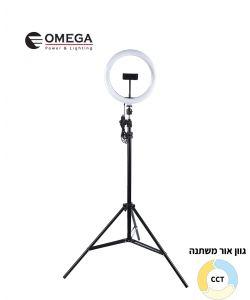 מנורת סלפי TIK-CLIP על חצובה CCT