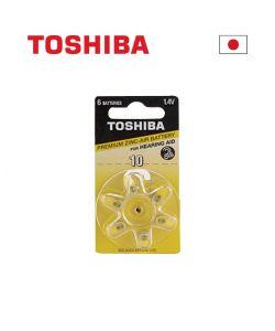 סוללות למכשירי שמיעה TOSHIBA - מחיר לאריזה