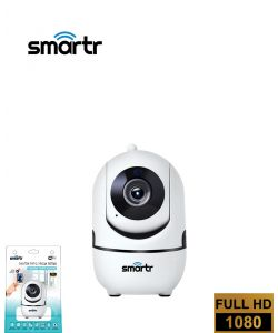 מצלמת אבטחה ביתית אלחוטית - WIFI מתכווננת PTZ 1080P HD - בליסטר